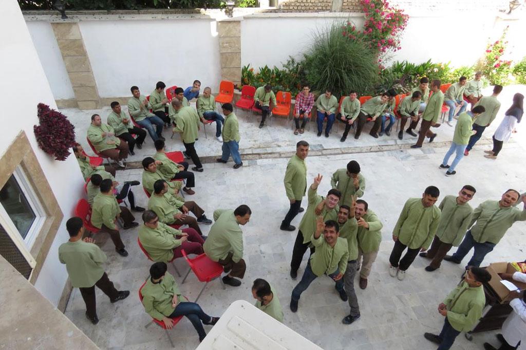 The Gorgan's Behkoush Rehabilitation and Vocational training center
